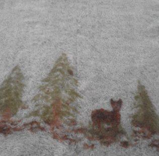 """""""Winterruhe"""" in der Filzwerkstatt"""